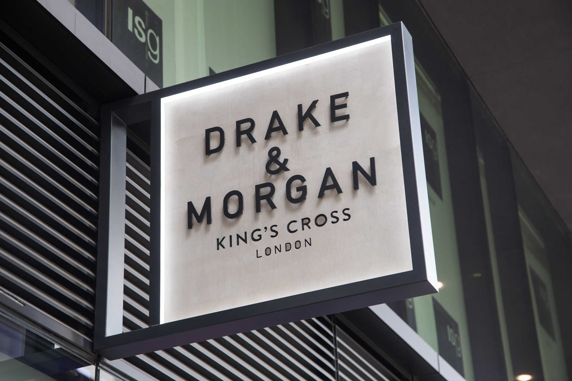 Drake & Morgan Sign