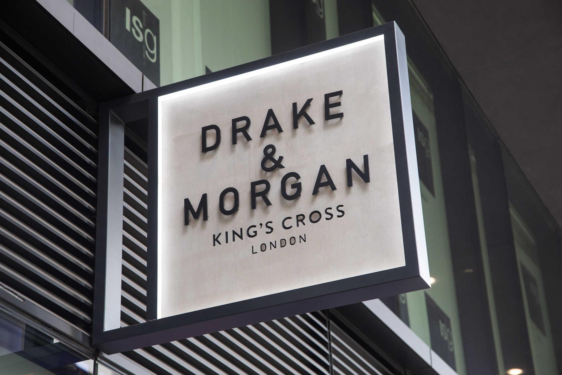 Drake & Morgan Sign