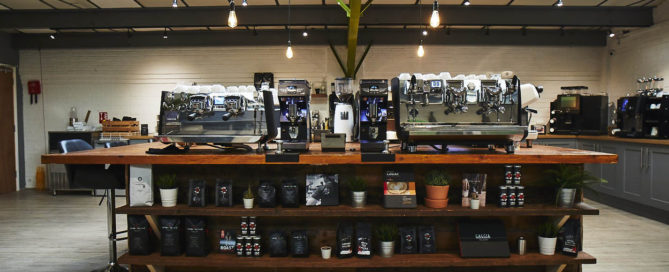 Caffeine Coffee Machine Showroom