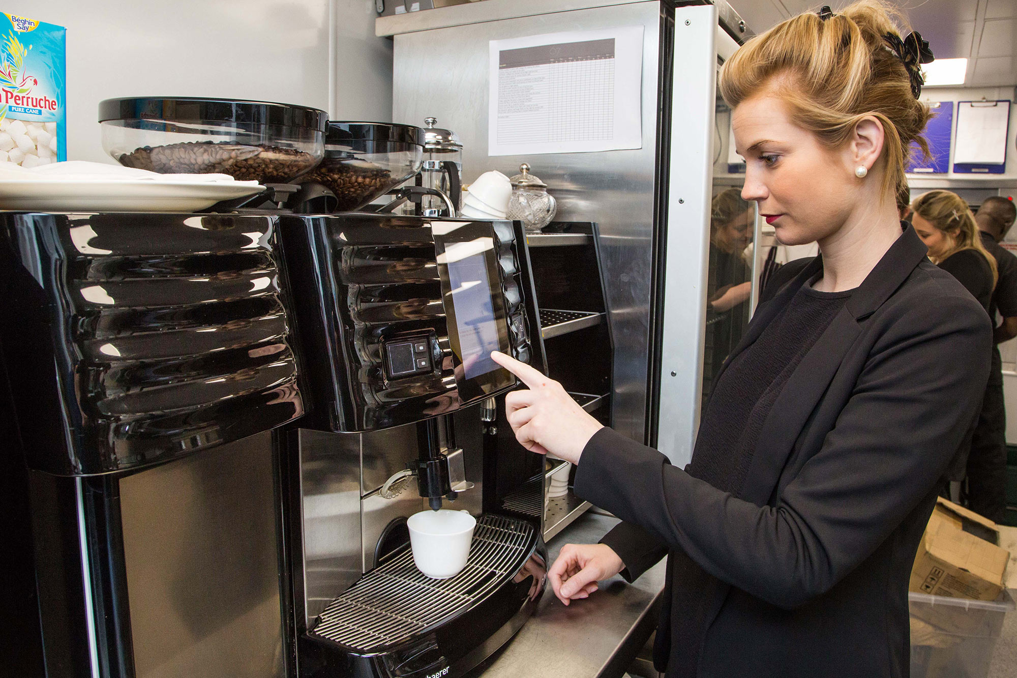 67 Pall Mall Bean to cup with Schaerer