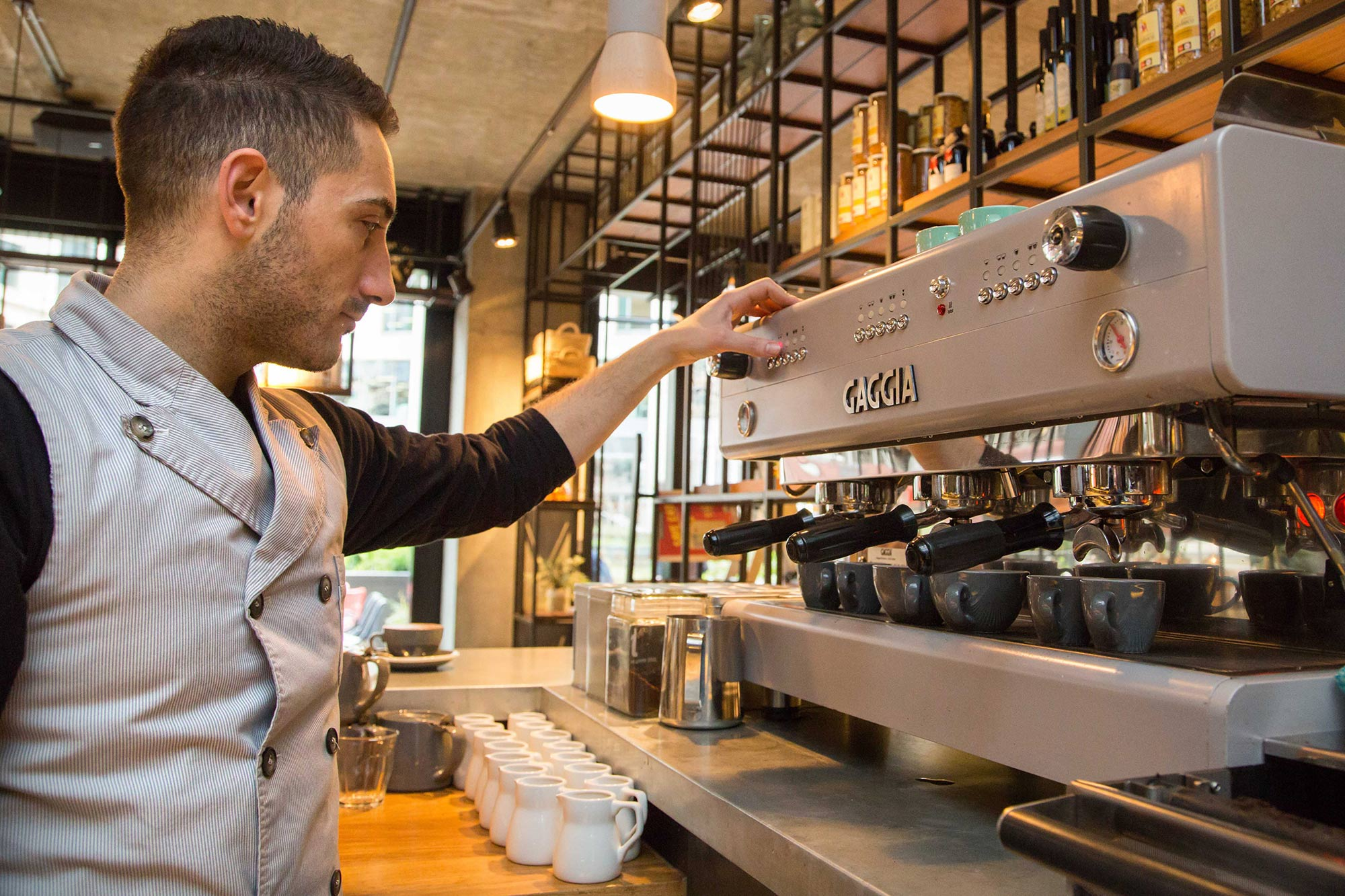 Caffeine supplies Gaggia coffee machines to Drake & Morgan