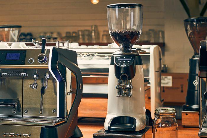 Compak E6 in Caffeine Ltd's Showroom