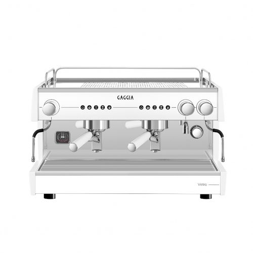 Gaggia Vetro 2 group White