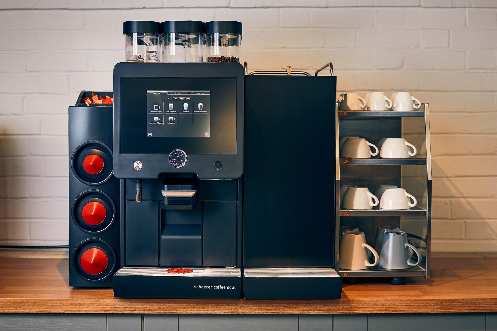 Schaerer Coffee Soul Bean to cup machine