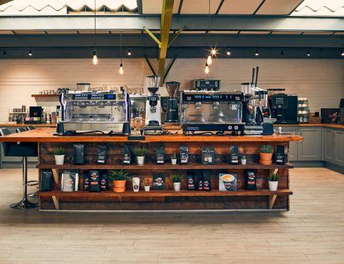 The Caffeine Limited Barista Training Room