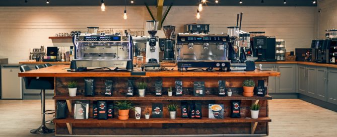 Caffeine Ltd Onsite Showroom and training room