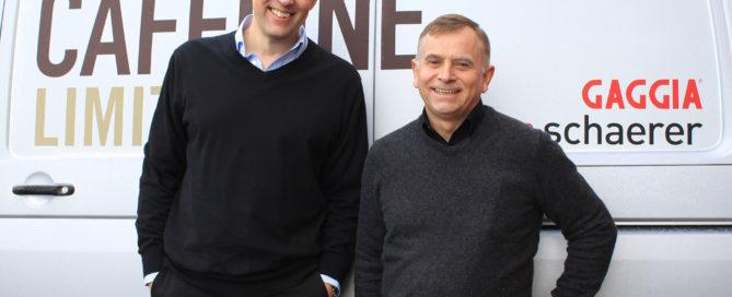 Tim Westmacott & Dave Short of Caffeine Limited