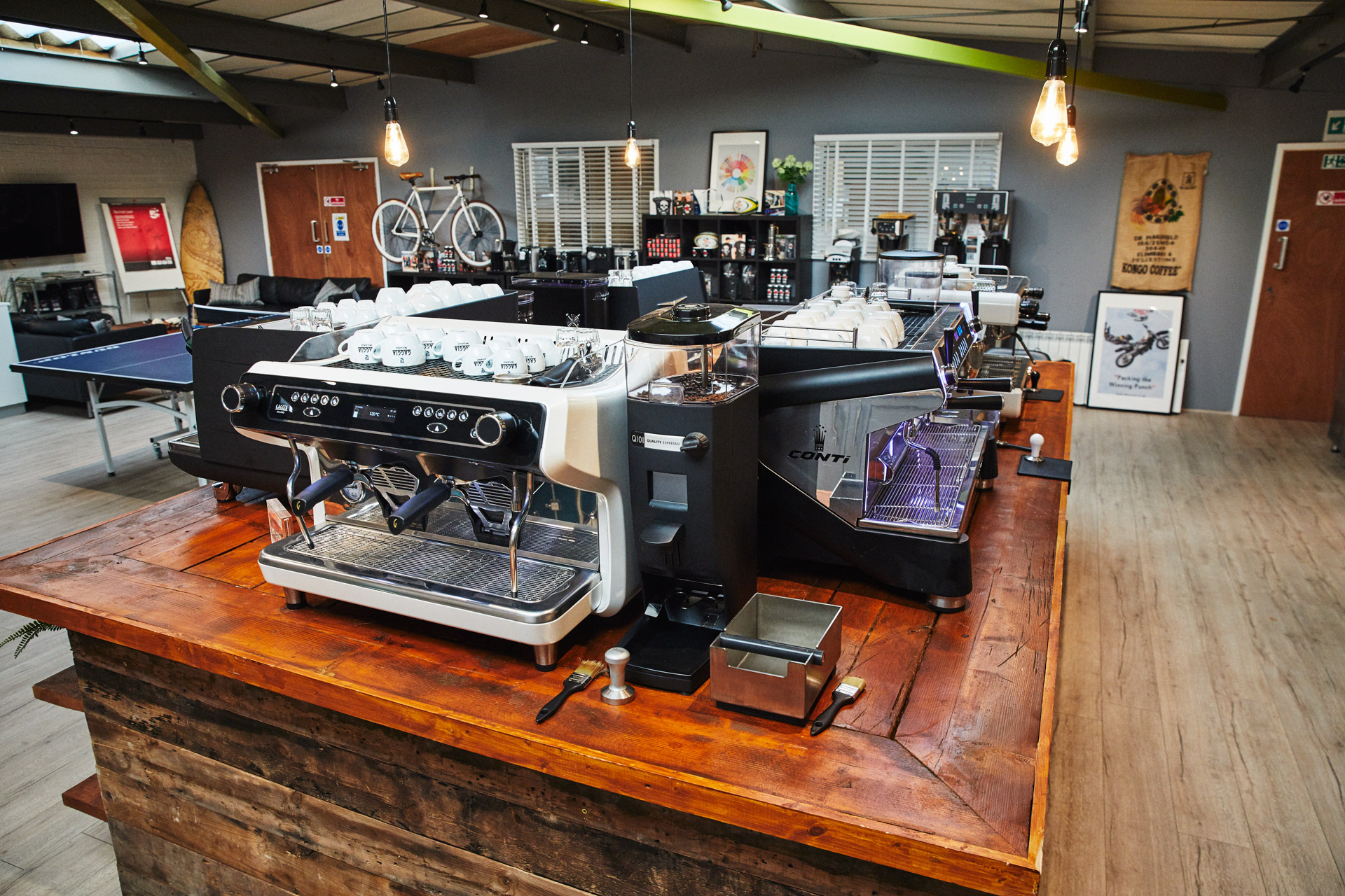 Caffeine limited showroom